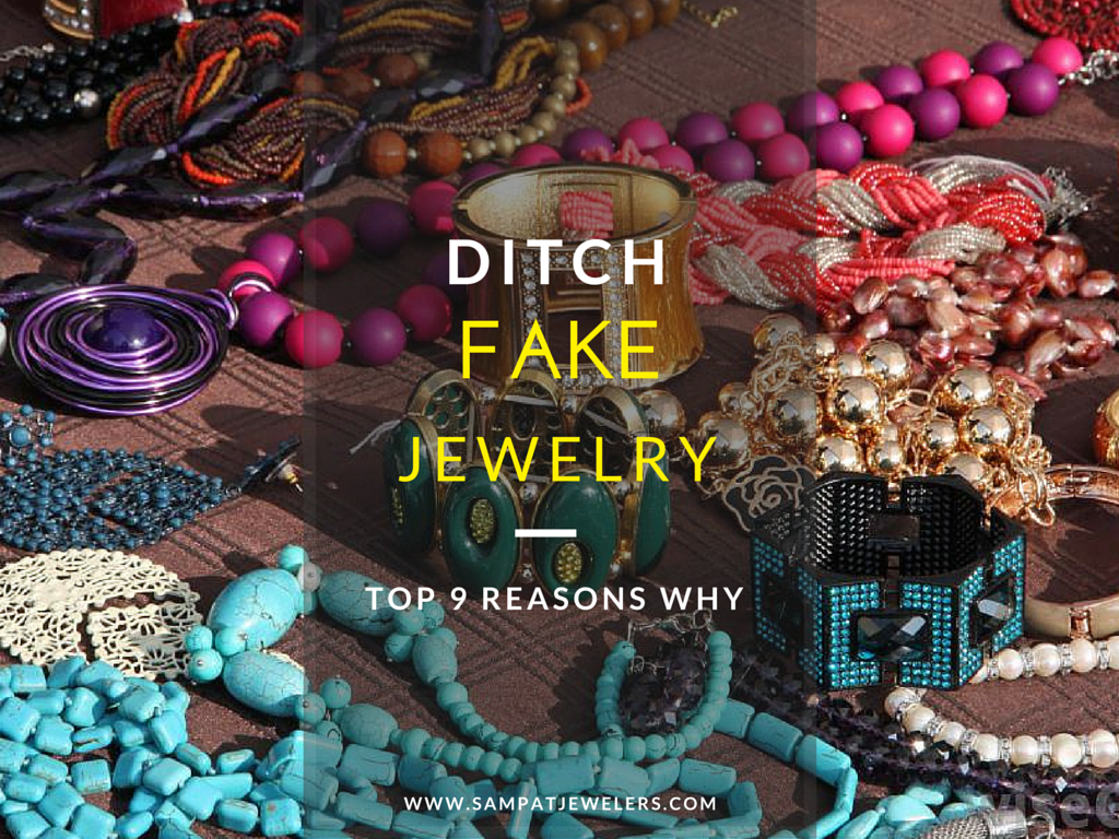 Ditch Fake Jewelry